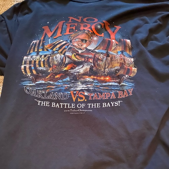 Other - 2003 Oakland Vs Tampa Bay No Mercy Tee